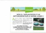 NON à l'installation d'un méthaniseur sur Le Mesnil-Aubry